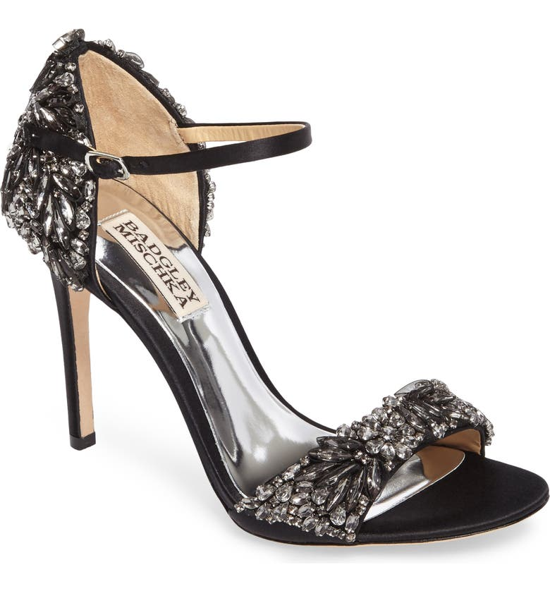 BADGLEY MISCHKA COLLECTION Tampa Ankle Strap Sandal, Main, color, 015
