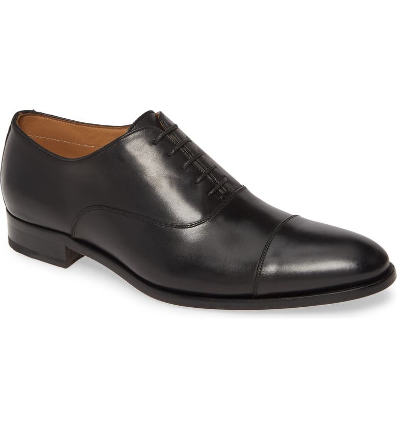 TO BOOT NEW YORK Forley Cap Toe Oxford, Main, color, 001