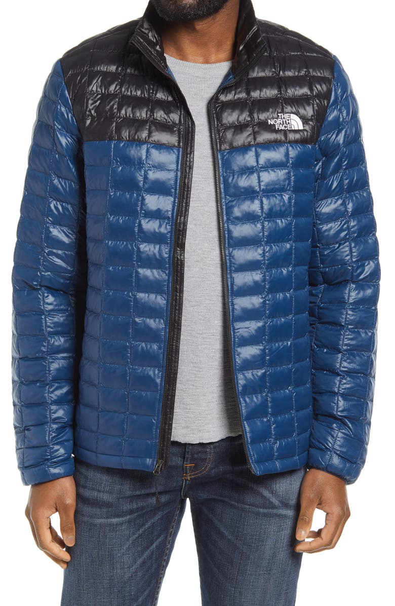 THE NORTH FACE ThermoBall<sup>™</sup> Eco Packable Jacket, Main, color, BLUE WING TEAL/ TNF BLACK