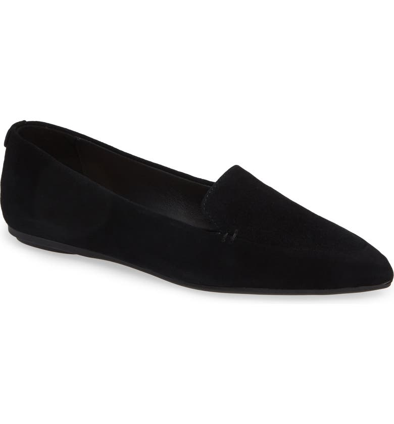 TARYN ROSE Faye Pointy Toe Loafer, Main, color, 004