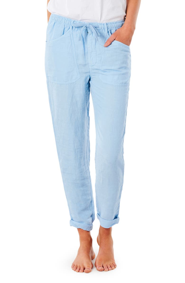 RIP CURL Panoma Ankle Pants, Main, color, MID BLUE