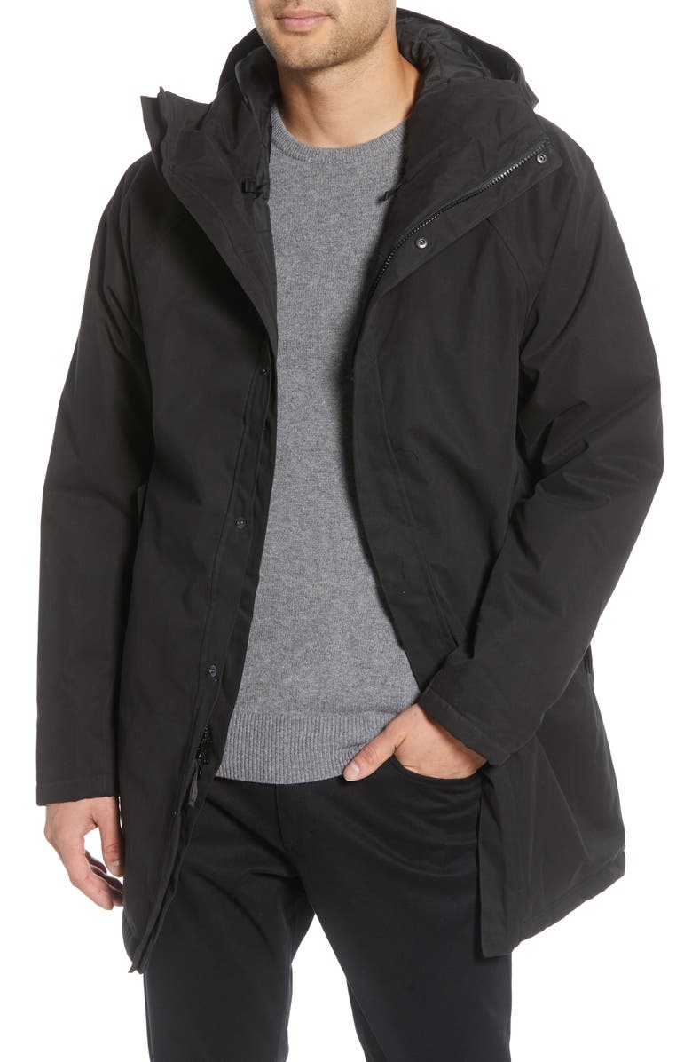 BARO The Manning Insulated Waterproof Parka, Main, color, 001