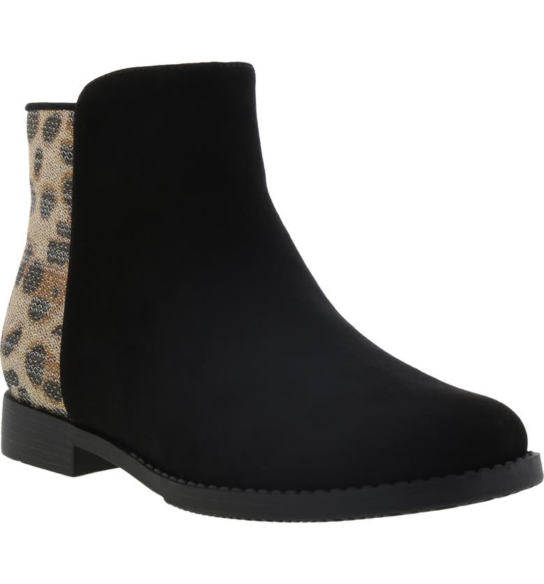 KENNETH COLE NEW YORK Kenneth Cole Kennedy Leopard Print Bootie, Main, color, 001