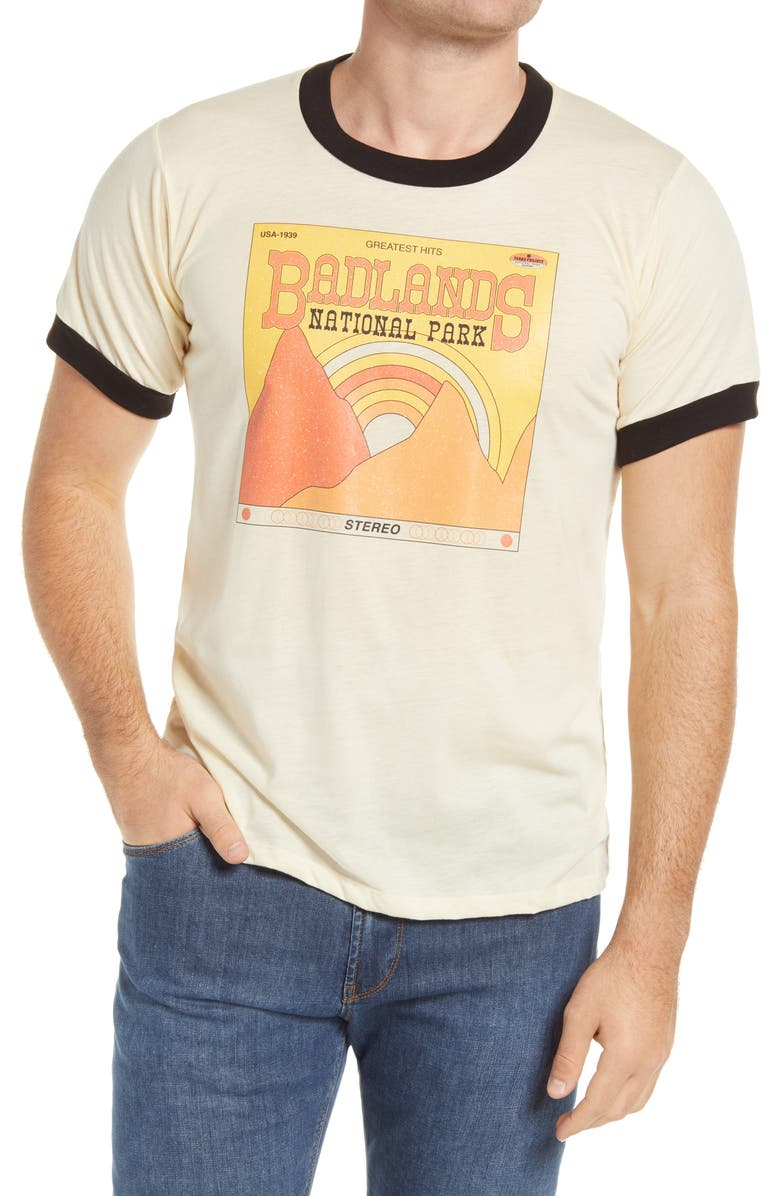 PARKS PROJECT Badlands' Greatest Hits Graphic Tee, Main, color, 100