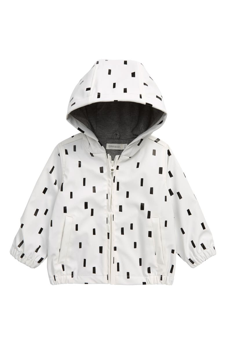 MILES baby Hooded Raincoat, Main, color, 900