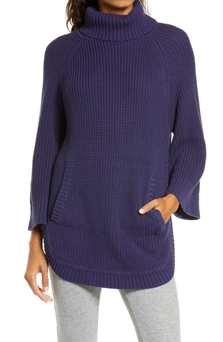 UGG<SUP>®</SUP> Raelynn Turtleneck Pullover, Main, color, STARRY NIGHT