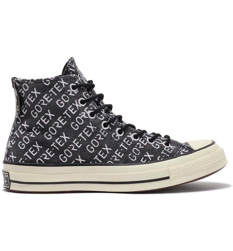 CONVERSE Chuck Taylor<sup>®</sup> All Star<sup>®</sup> High Top Gore-Tex<sup>®</sup> Waterproof Sneaker, Main, color, 002