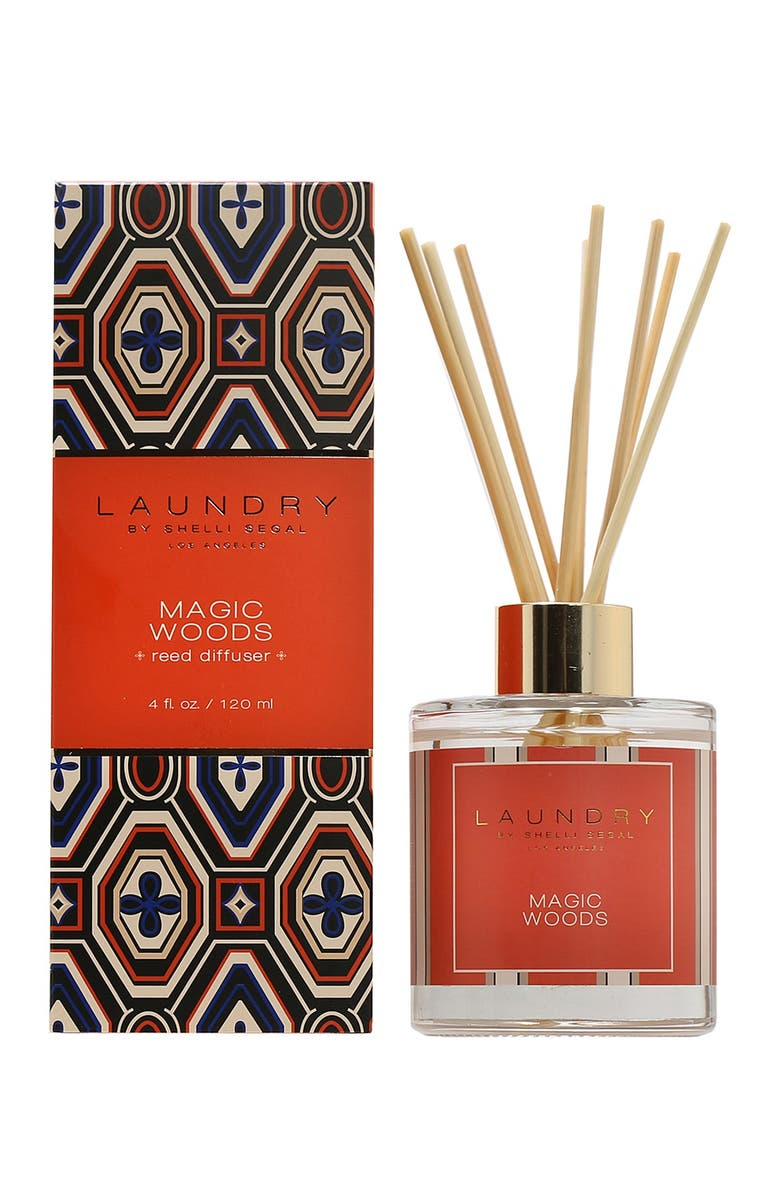 LAUNDRY BY SHELLI SEGAL Magic Woods Reed Diffuser, Main, color, NO COLOR