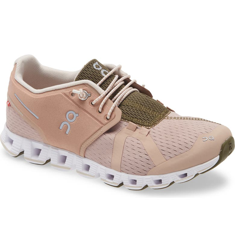 ON Cloud Running Shoe, Main, color, ROSEBROWN/ CAMO