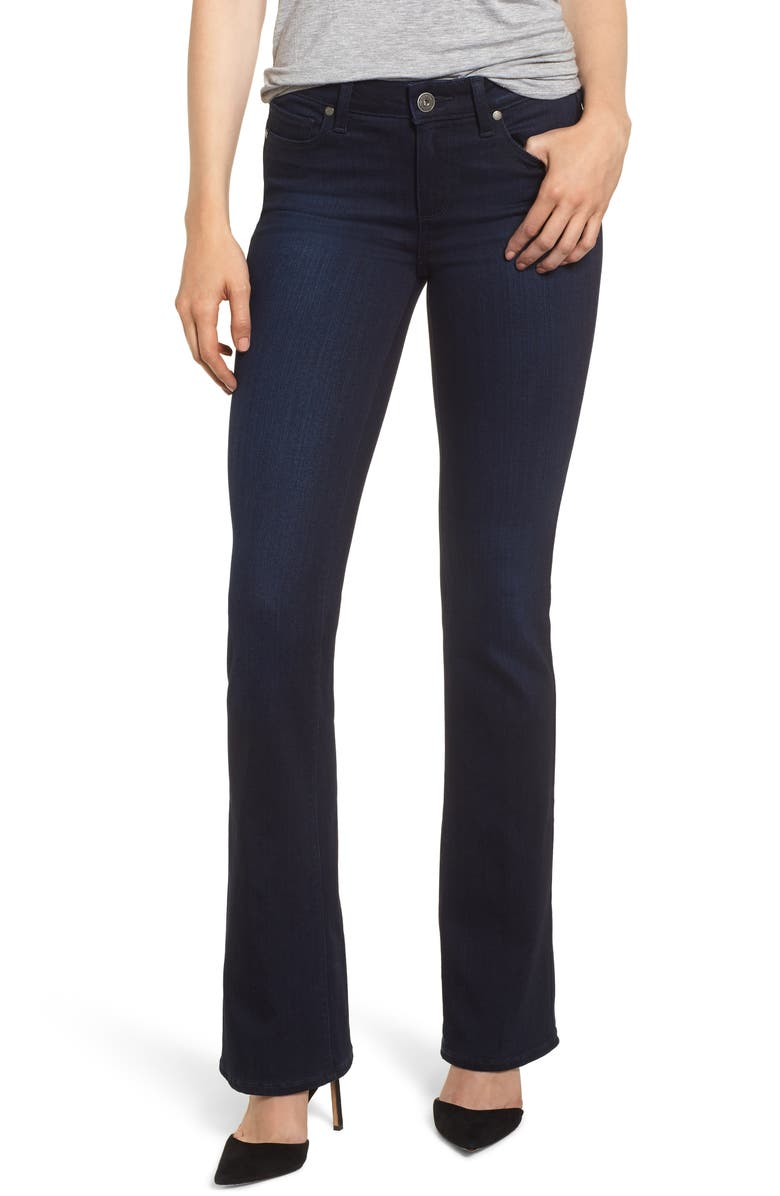 PAIGE Transcend - Manhattan Bootcut Jeans, Main, color, LANA