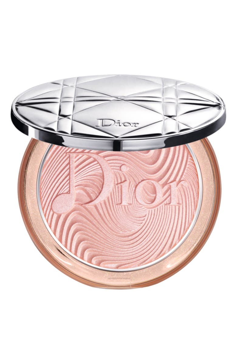 DIOR Glow Vibes Diorskin Nude Luminizer Powder Highlighter, Main, color, 650