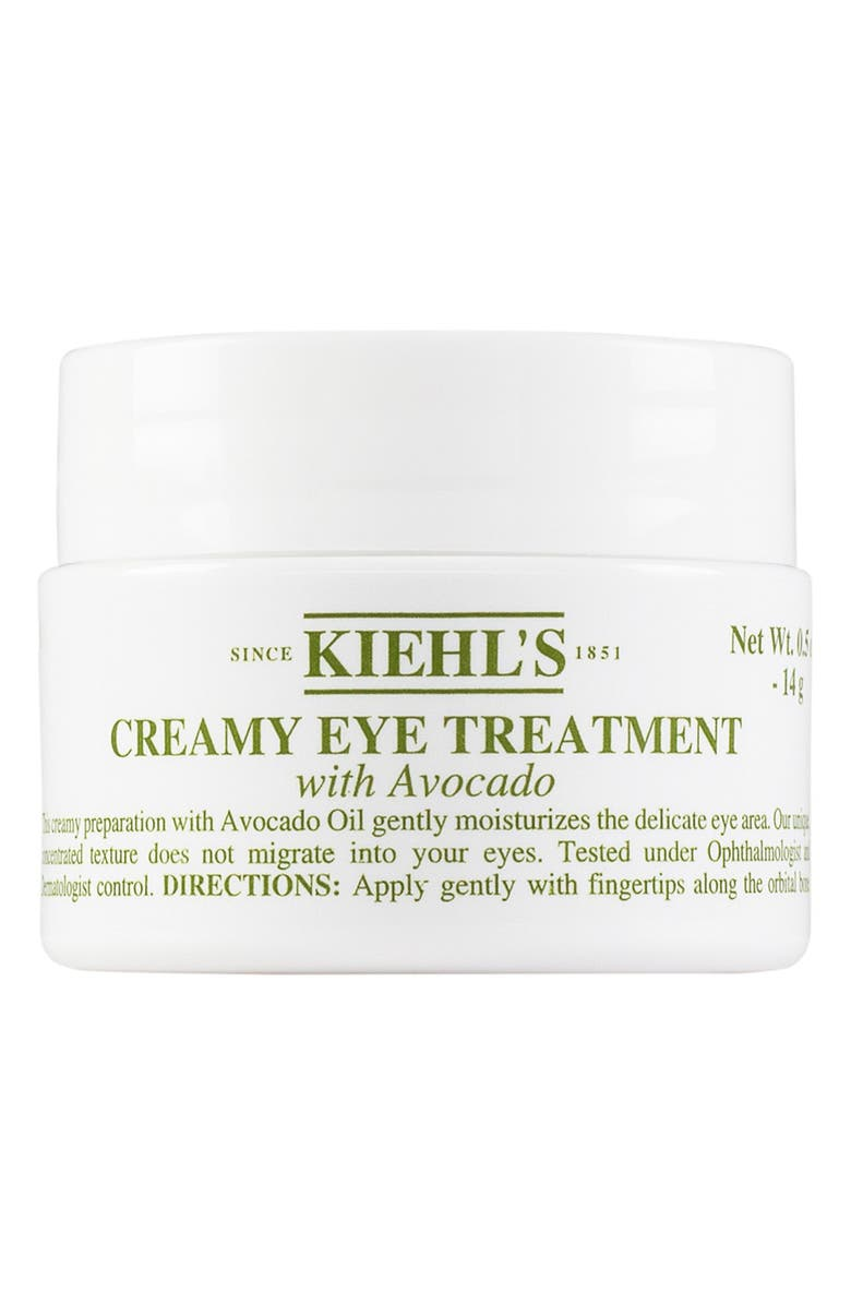 KIEHL'S SINCE 1851 Creamy Eye Treatment with Avocado, Main, color, NO COLOR