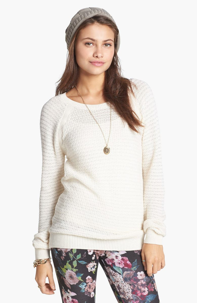 RUBBISH<SUP>®</SUP> Open Knit Sweater, Main, color, 270