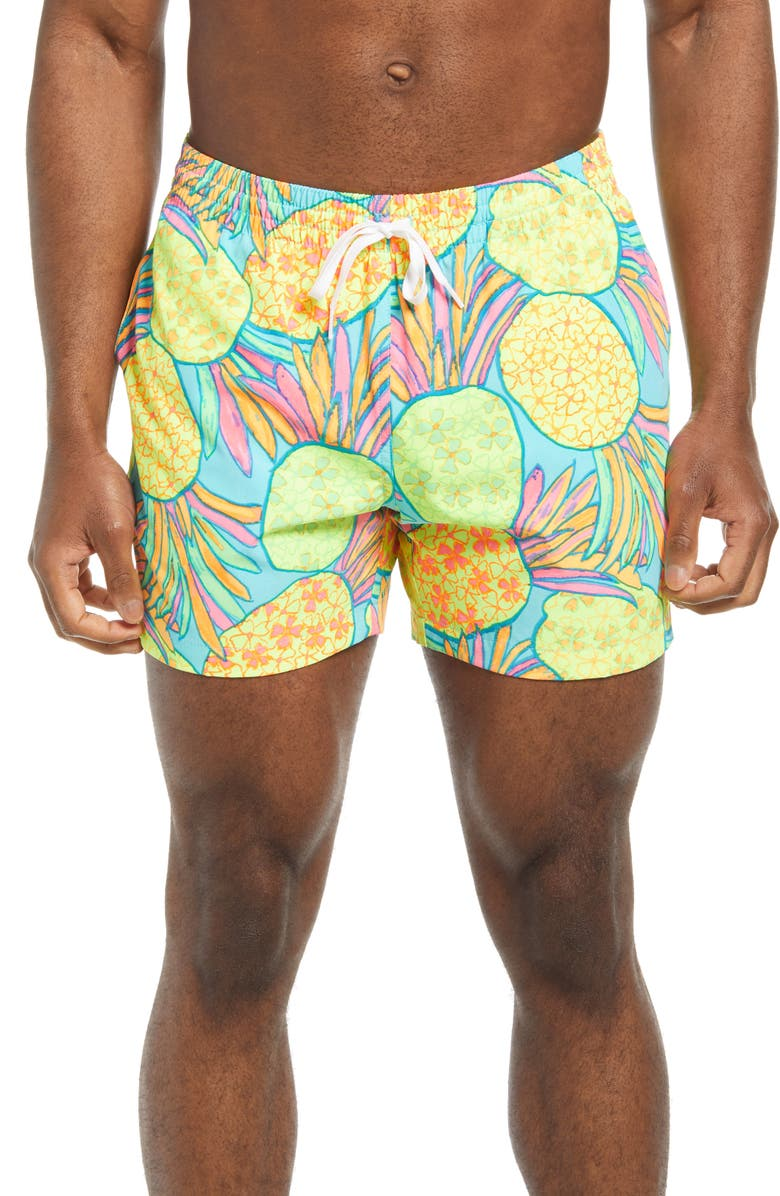 CHUBBIES The Hooligans 5.5-Inch Swim Trunks, Main, color, OPEN MISCELLANEOUS