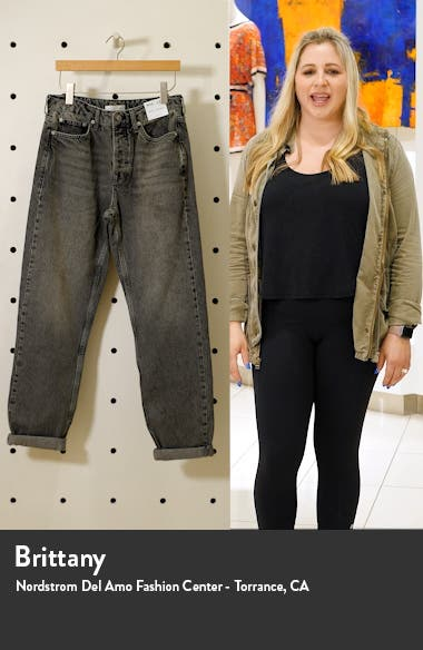 Relaxed Fit Straight Leg Jeans, sales video thumbnail