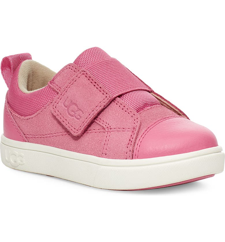 UGG<SUP>®</SUP> Rennon Low Top Sneaker, Main, color, WILD BERRY