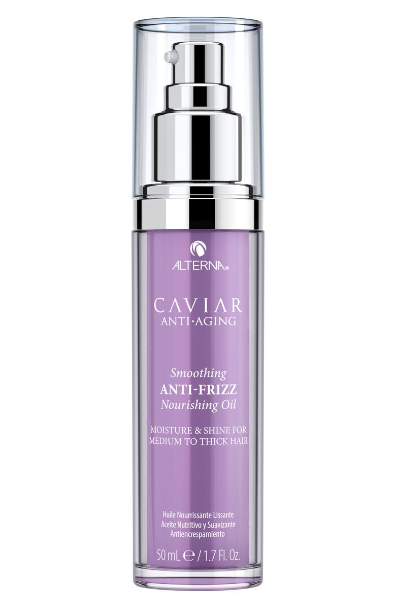 ALTERNA<SUP>®</SUP> Caviar Anti-Aging Smoothing Anti-Frizz Nourishing Oil, Main, color, No Color