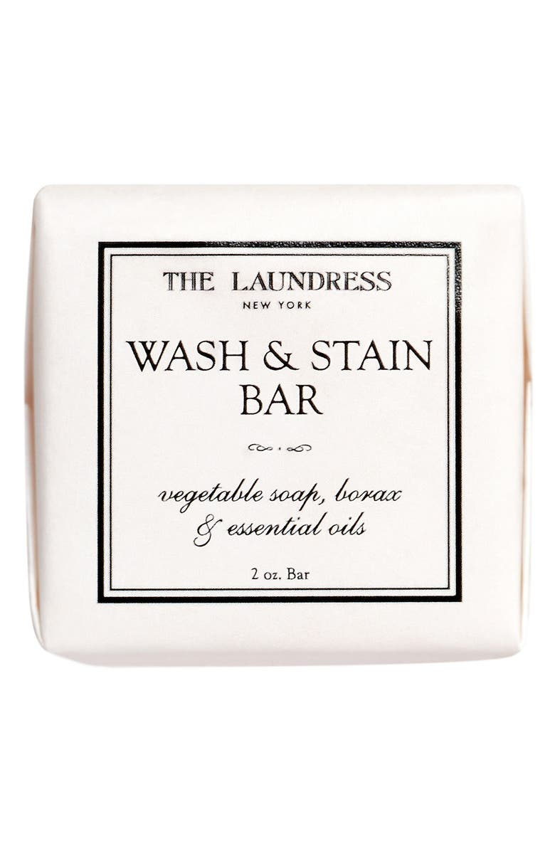 THE LAUNDRESS Wash & Stain Bar, Main, color, White