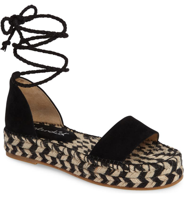 SPLENDID Eliza Platform Ankle Wrap Espadrille, Main, color, 013