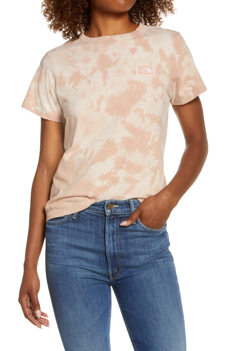 THE NORTH FACE Botanic Dye T-shirt, Main, color, EVENING SAND PINK WASH