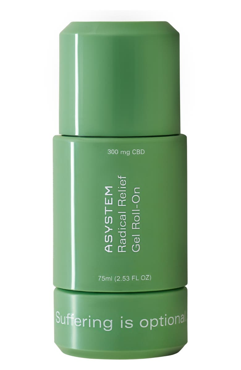 ASYSTEM Radical Relief Gel Roll-On with CBD, Main, color, NO COLOR