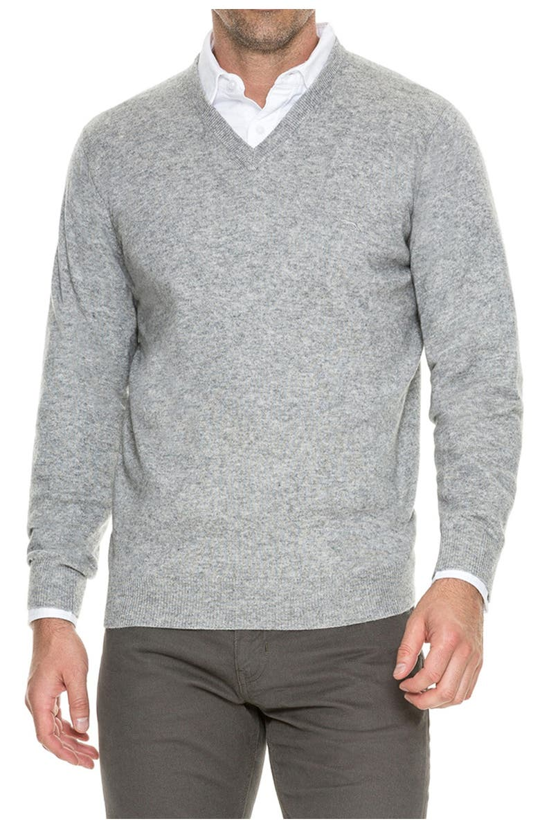 RODD AND GUNN Inchbonnie V-Neck Pullover Sweater, Main, color, SMOKE