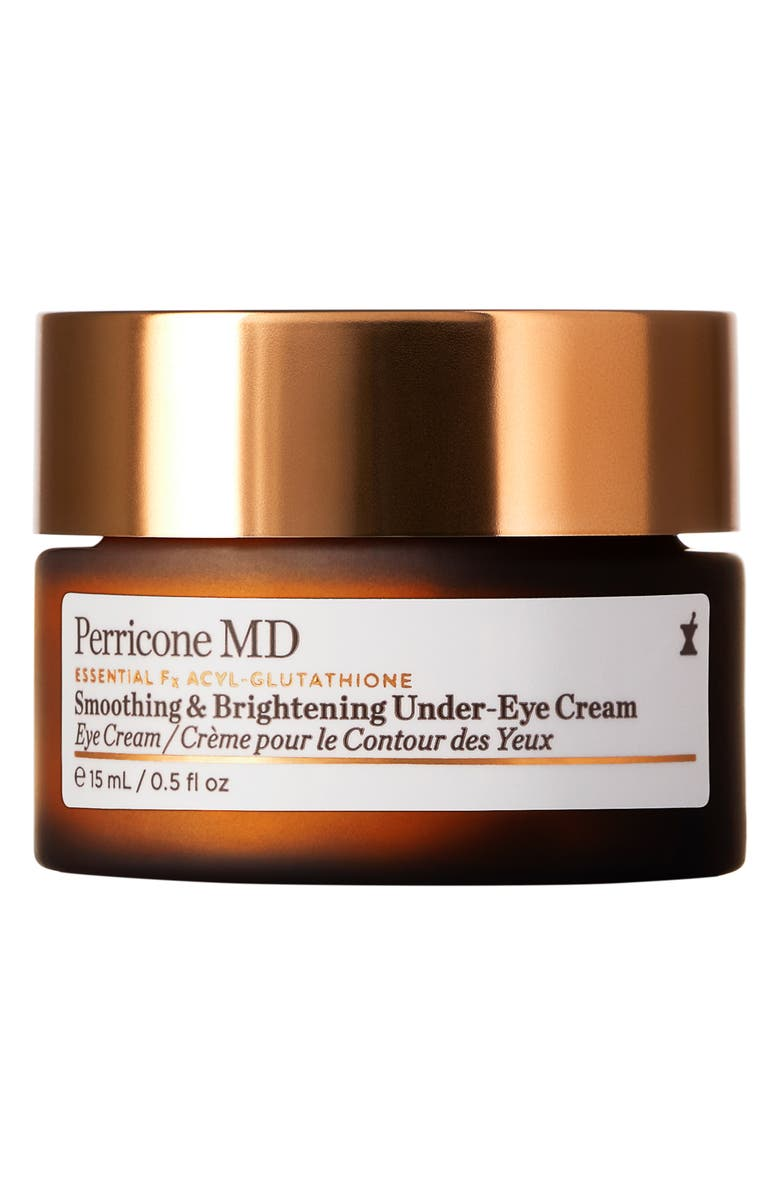 PERRICONE MD Essential Fx Acyl-Glutathione Smoothing & Brightening Under-Eye Cream, Main, color, No Color