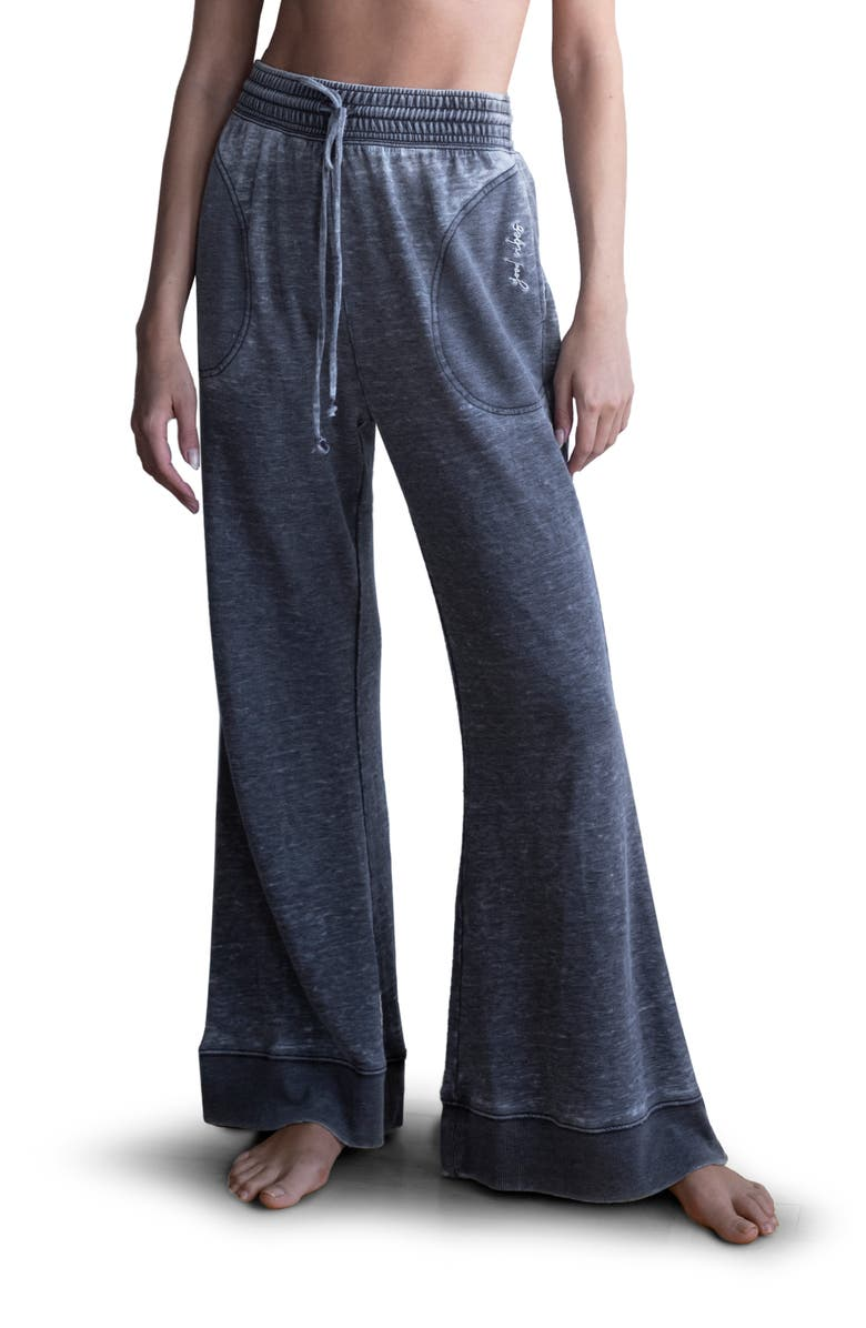 FREE PEOPLE Cozy Cool Lounge Pants, Main, color, 001