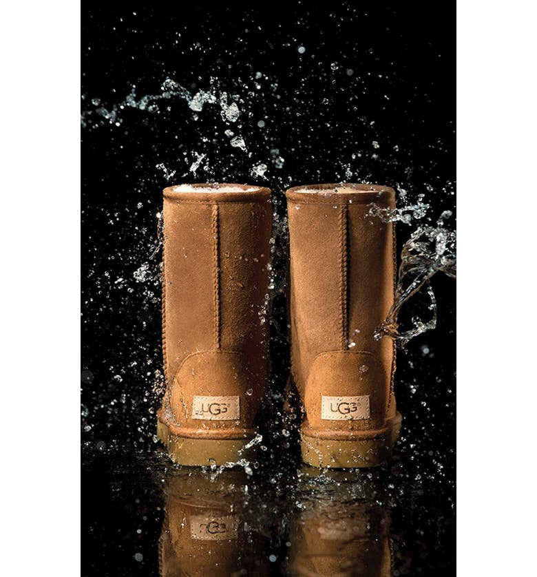 UGG<SUP>®</SUP> Bailey Bow II Genuine Shearling Boot, Main, color, 200