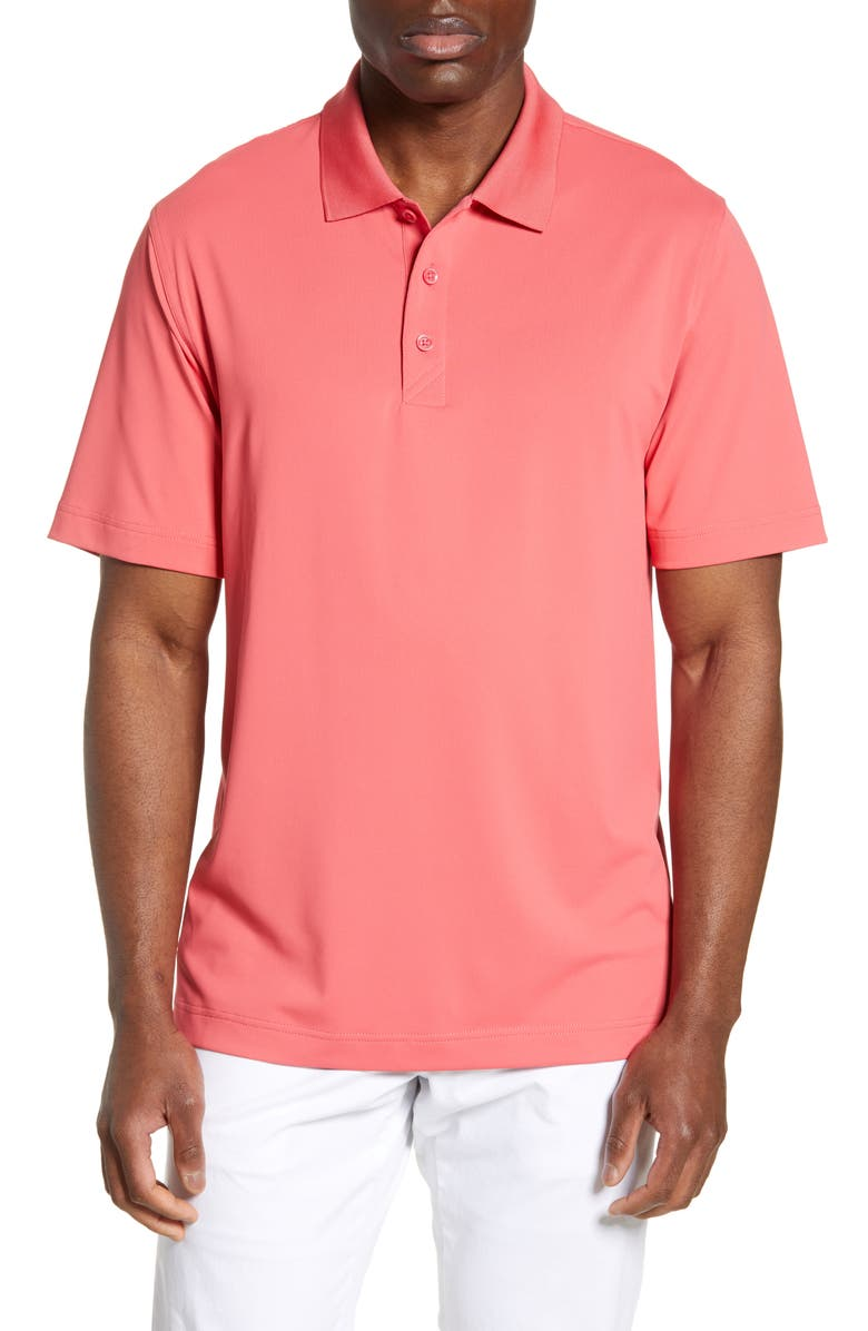 CUTTER & BUCK Forge DryTec Solid Performance Polo, Main, color, EMBARK
