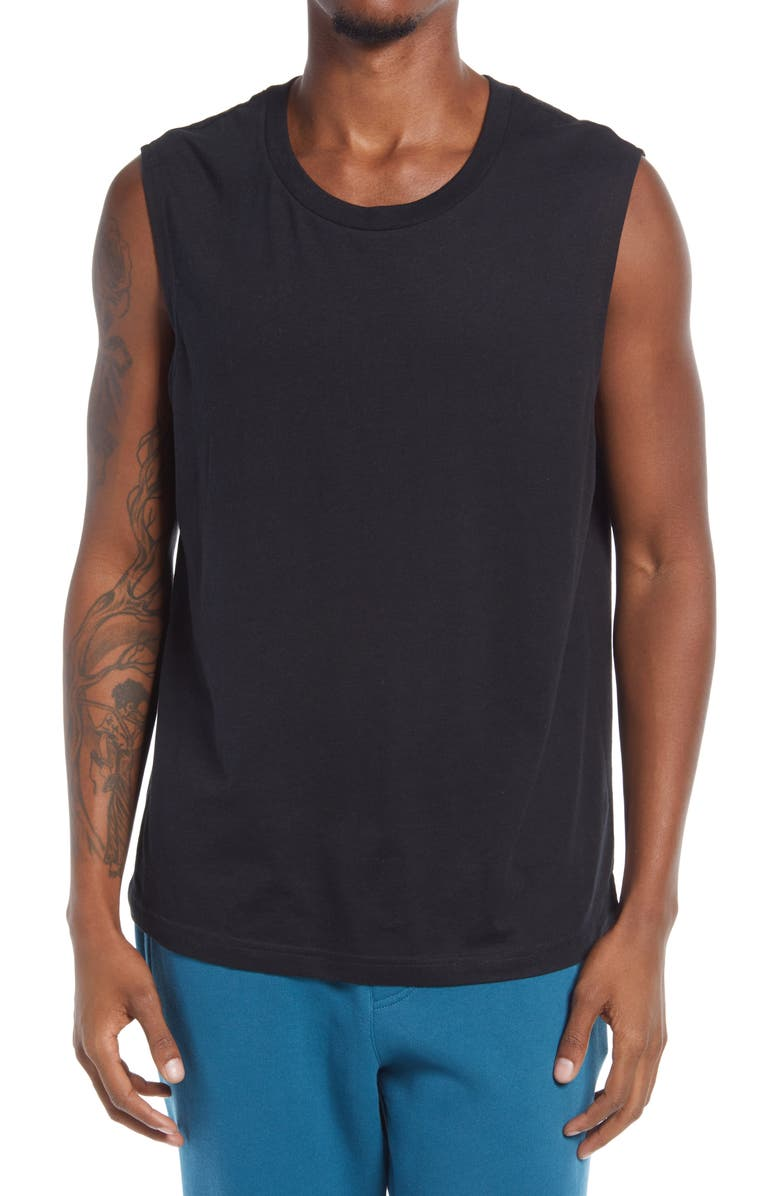 ALO The Triumph Sleeveless T-Shirt, Main, color, 002
