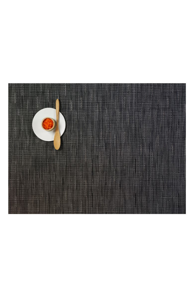 CHILEWICH Woven Placemat, Main, color, SMOKE