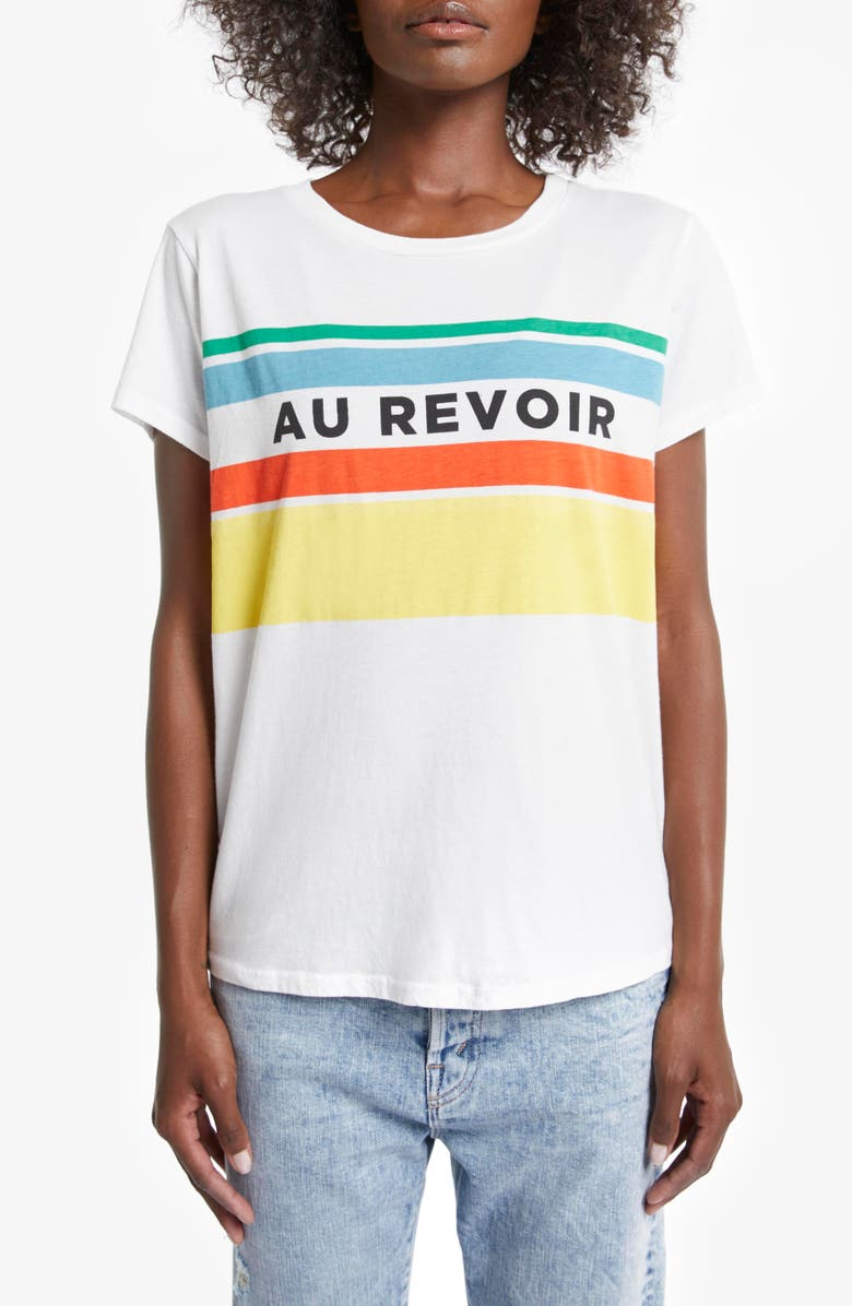 MOTHER The Boxy Goodie Goodie Supima<sup>®</sup> Cotton Tee, Main, color, AU REVOIR