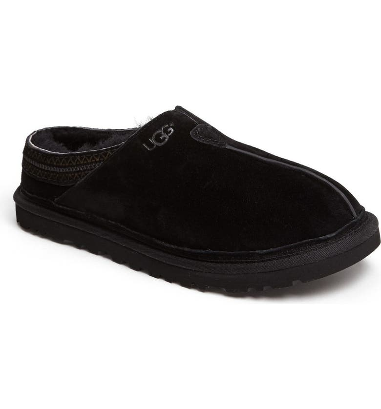 UGG<SUP>®</SUP> Neuman Slipper, Main, color, Black