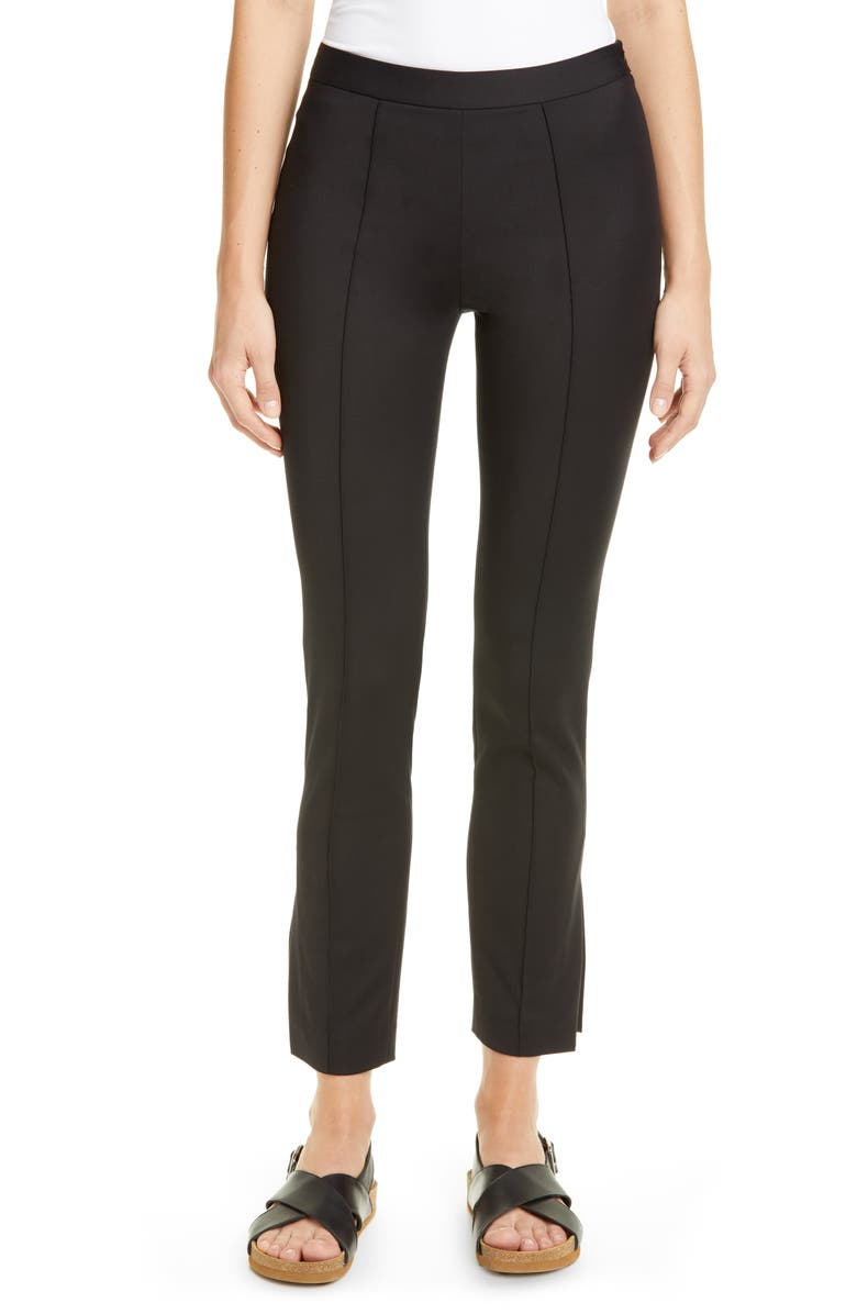 PARTOW Maurice Side Slit Ankle Pants, Main, color, 001