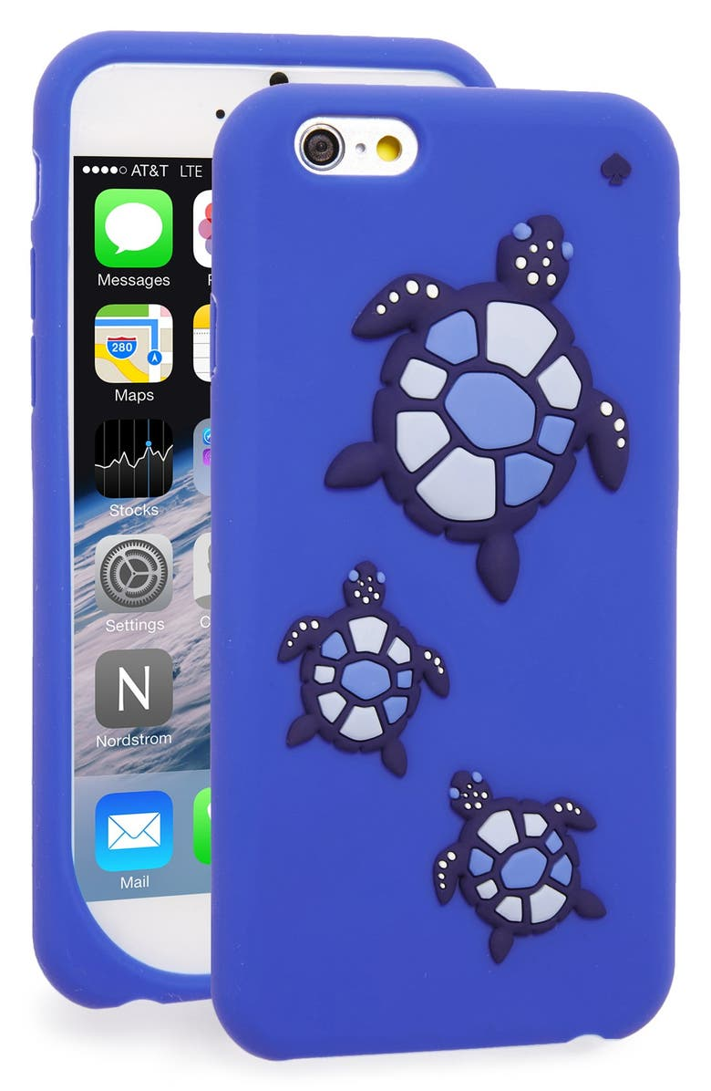 kate spade new york sea turtles 3d silicone iPhone 6/6s case ...