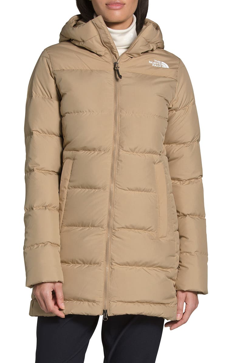 THE NORTH FACE Gotham 550 Fill Power Down Hooded Parka, Main, color, 251
