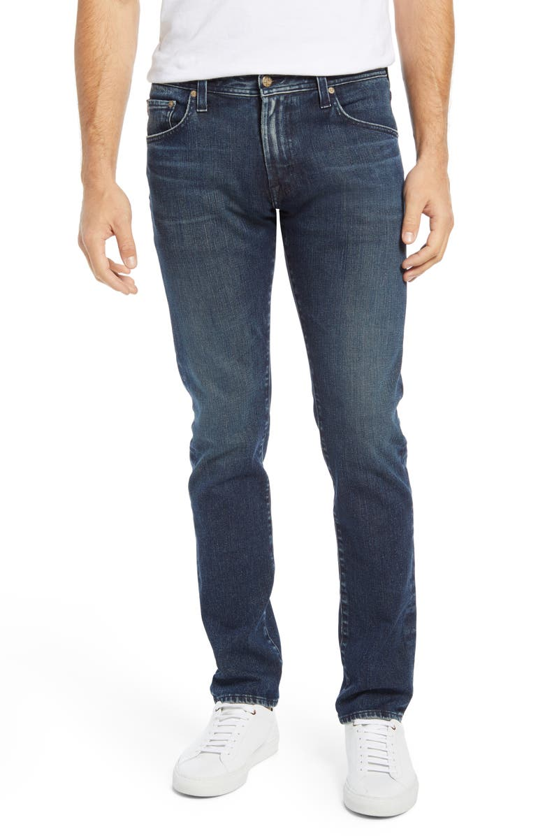 AG Tellis Slim Fit Jeans, Main, color, 6 YEARS QUINCY