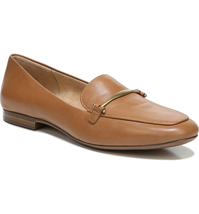 NATURALIZER Emiline Loafer, Main, color, TOFFEE LEATHER