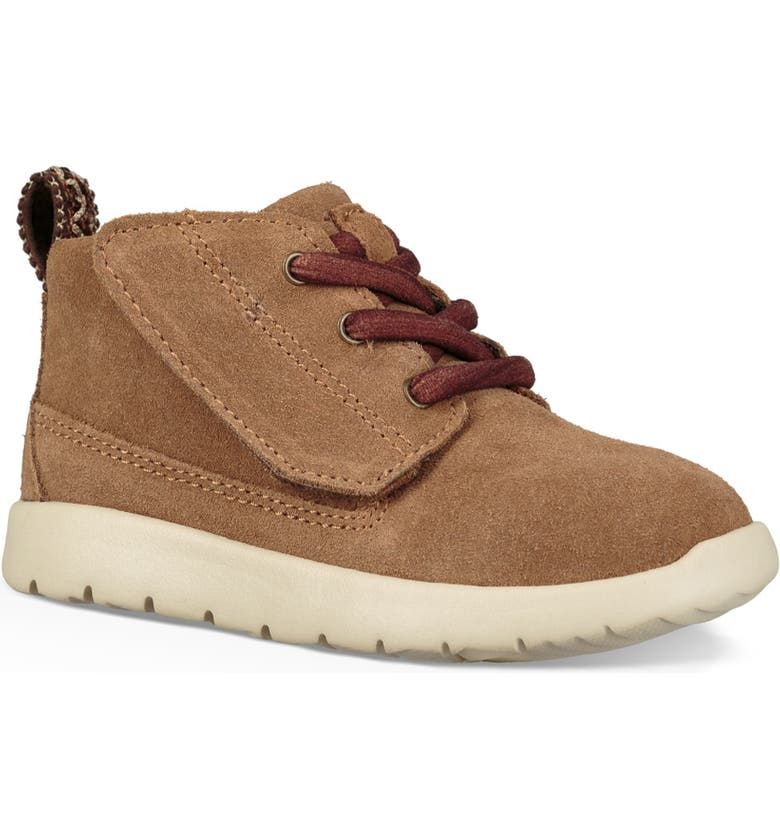 UGG<SUP>®</SUP> Canoe Washable Chukka Sneaker, Main, color, CHESTNUT