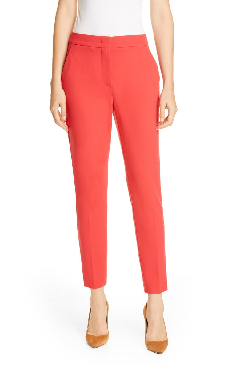 MAX MARA Pegno Slim Jersey Crop Pants, Main, color, 950