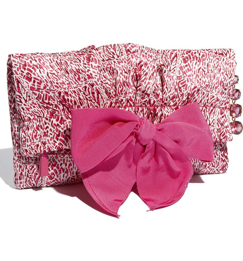JUICY COUTURE 'Madame Daydreamer' Clutch, Main, color, RED ANIMAL PRINT
