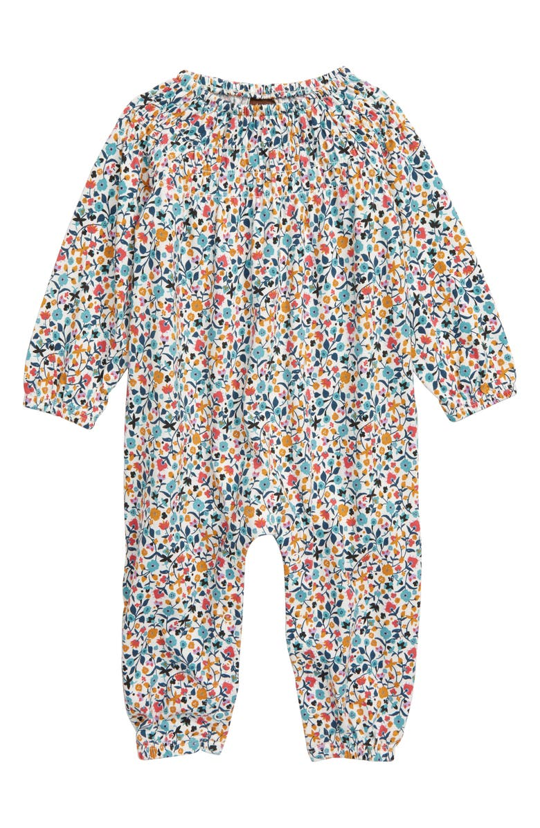 TEA COLLECTION Smocked Romper, Main, color, 103