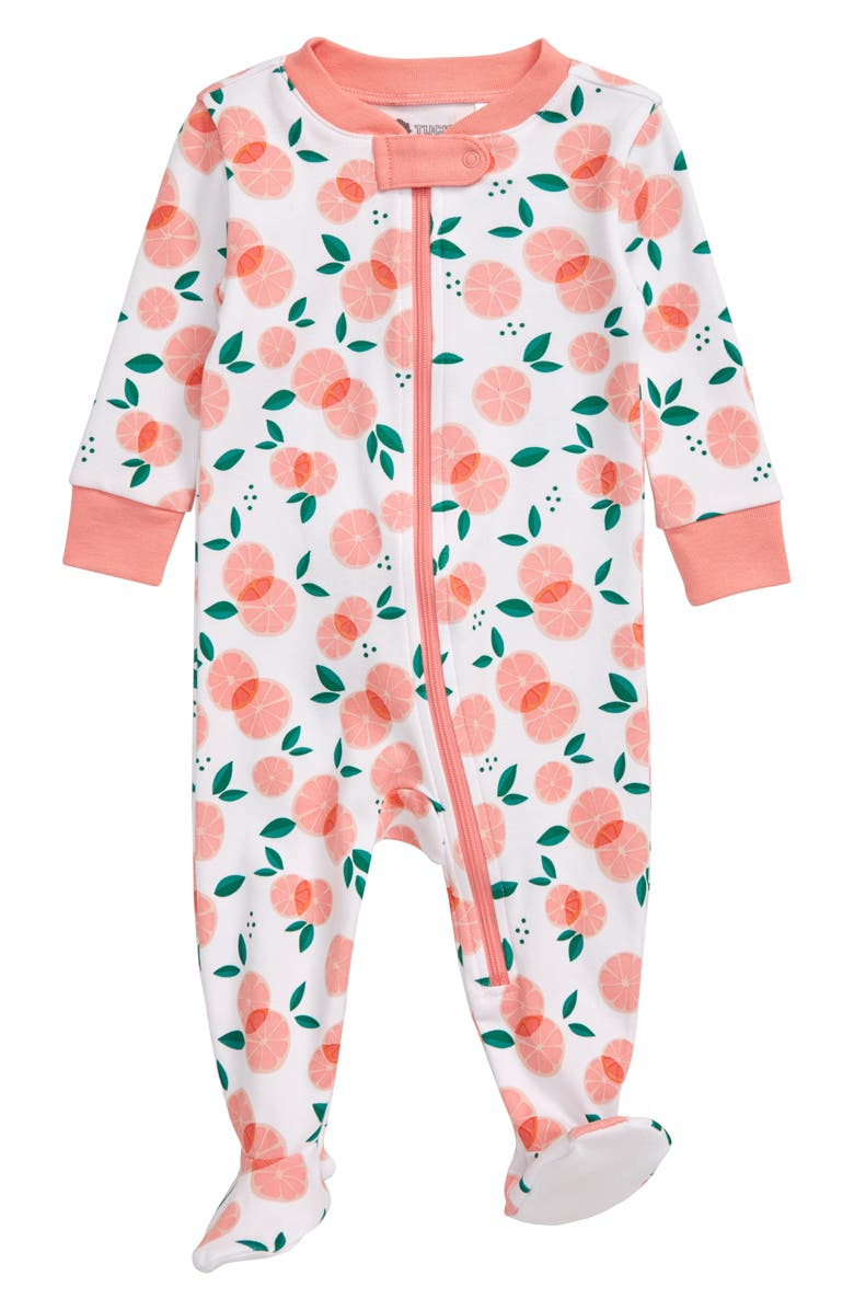 TUCKER + TATE Print Fitted One-Piece Pajamas, Main, color, 100