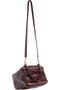 GIVENCHY,                                                 Small Pandora Creased Patent Leather Shoulder Bag,                                                 Alternate thumbnail 1, color,                                                 930