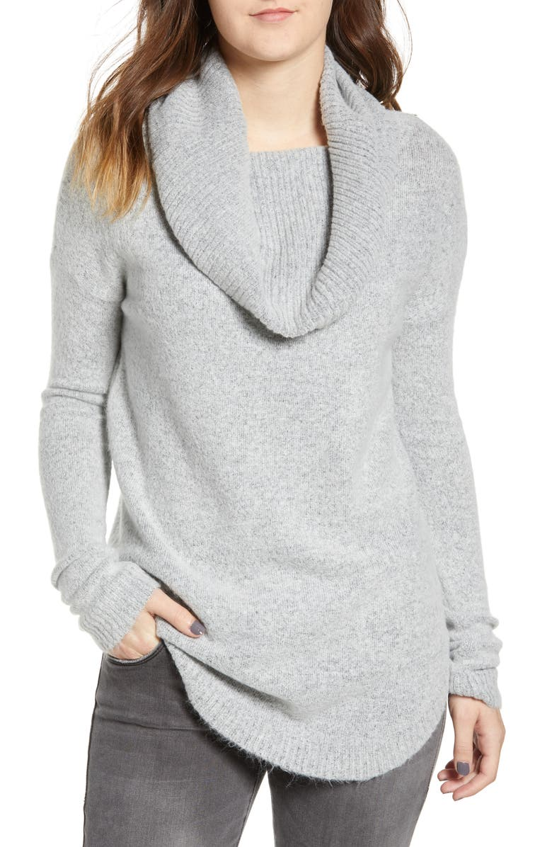 DREAMERS BY DEBUT Cowl Neck Tunic, Main, color, 020