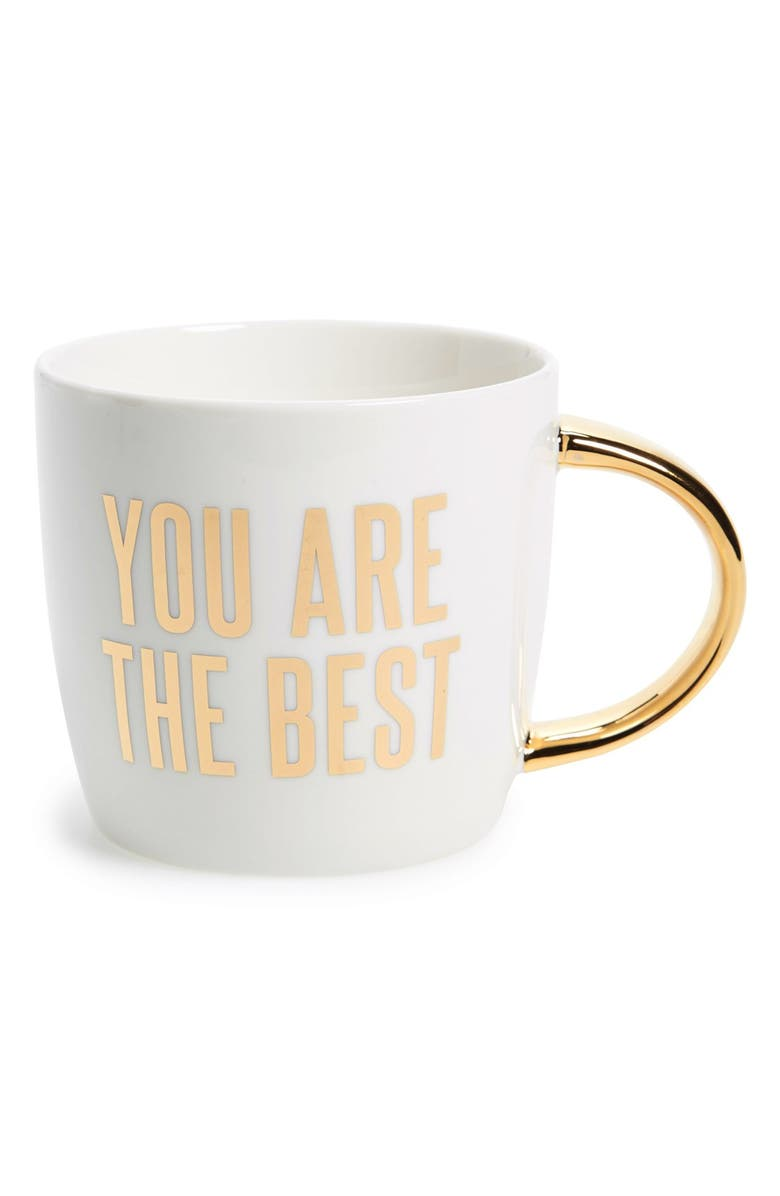 SLANT COLLECTIONS 'You Are the Best' Ceramic Mug, Main, color, 100