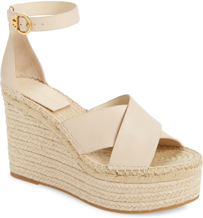 TORY BURCH Selby Espadrille Wedge Sandal, Main, color, 251