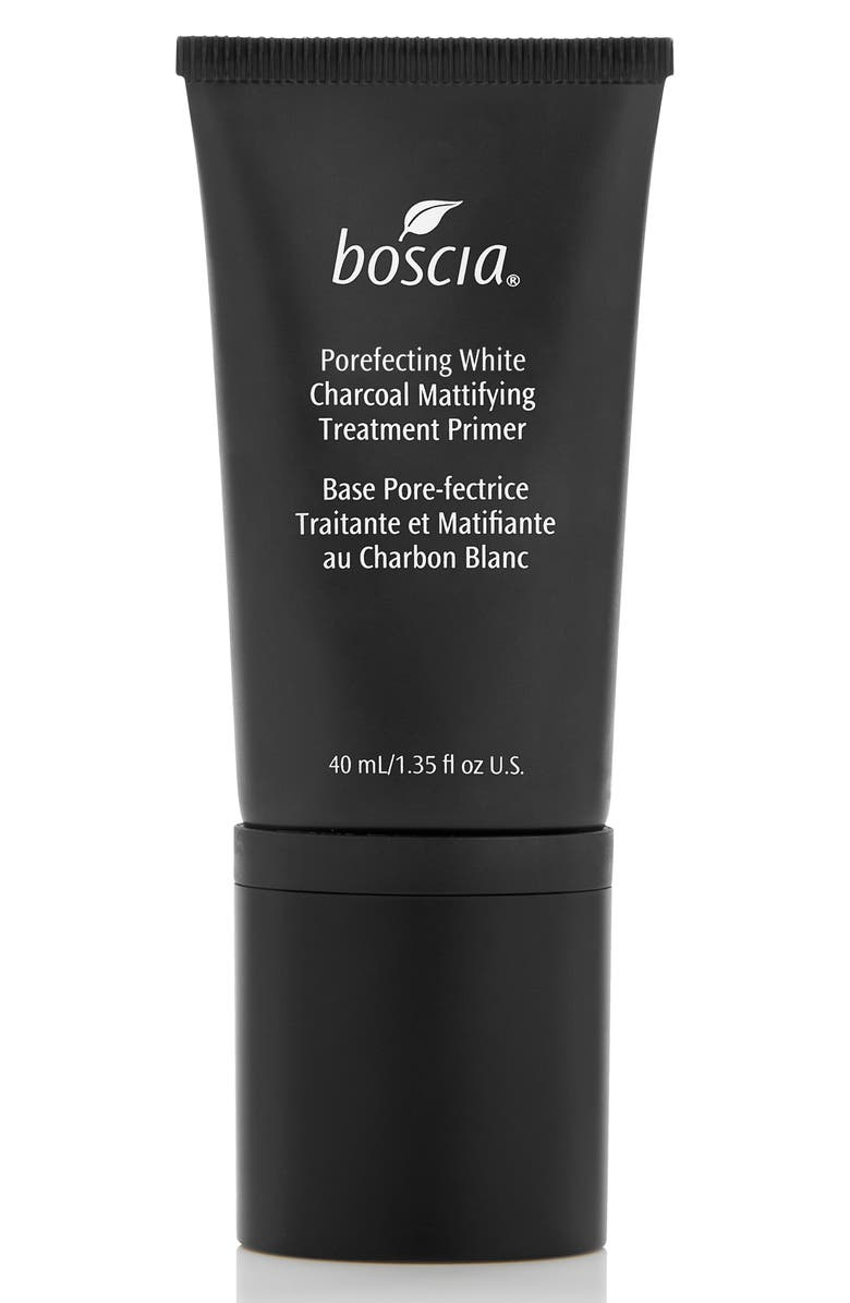 BOSCIA Porefecting White Charcoal Mattifying Treatment Primer, Main, color, 000