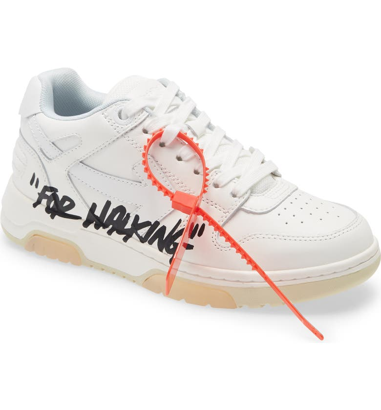 OFF-WHITE Out of Office For Walking Sneaker, Main, color, WHITE/ BLACK